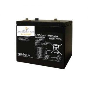 40Ah 24v lithium pakket