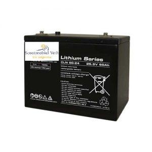 60Ah 24v lithium pakket