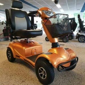 Scootmobiel Galaxy Oranje met nieuwe accu,s