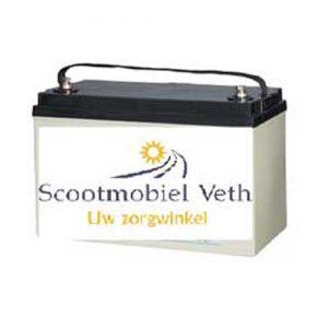 Scootmobiel accu 12v 125AH