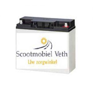 Scootmobiel accu 12v 20AH