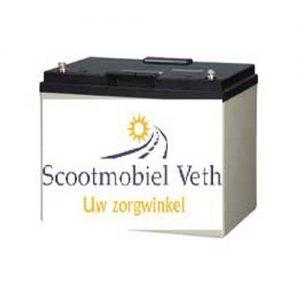 Scootmobiel accu 12v 80AH