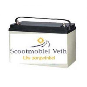 Scootmobiel accu lead carbon 12v 110AH
