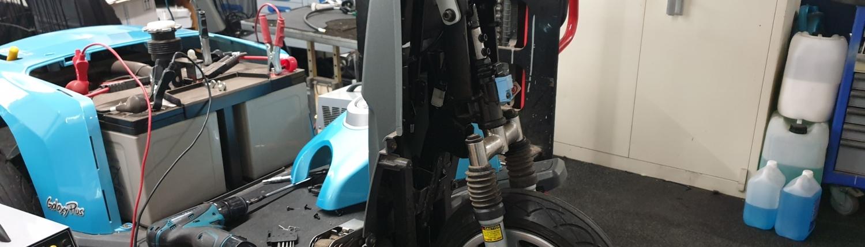 Scootmobiel onderhoud en reparatie